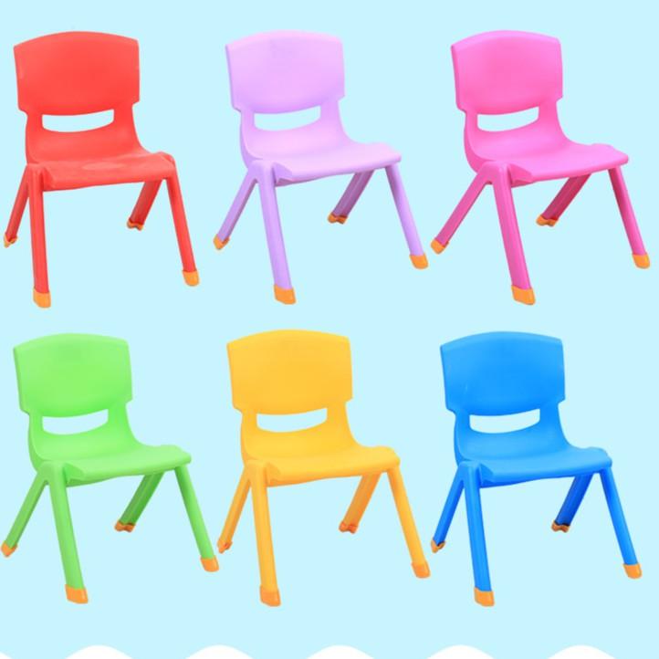 兒童靠背椅子幼兒園桌椅寶寶椅小板凳塑料加厚凳子折疊靠背凳