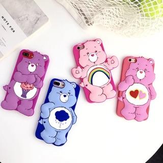 Care Bears iPhone手機軟殼 買就送防滑指扣環