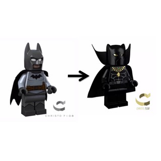 (純交流)樂高 lego christo gaslight batman交換christo black panther