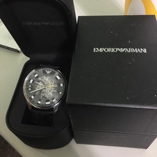 Armani皮錶 錶帶要更換