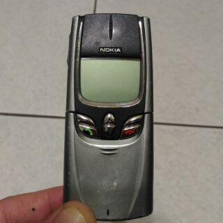Nokia 8850 經典 鈦合金手機 收藏用 man