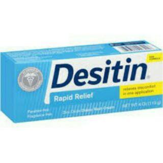 2條特價 Desitin 尿布疹舒緩乳霜-舒緩型-4oz/113g