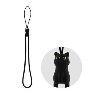 ~Bone ~可愛貓咪 防刮彈力吊繩 掛縄裝飾cat 貓奴可掛手機票卡包包識別送禮