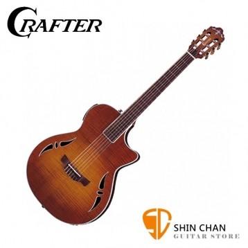 【小新樂器館】Crafter SAC-TMVS 可插電古典吉他 韓國廠 附原廠厚琴袋、Pick×2、背帶、導線