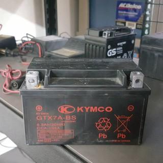 (二手中古電池) KYMCO光陽原廠 YTX7A-BS -二手機車電池 7號 125機車專用 數值漂亮,品項優