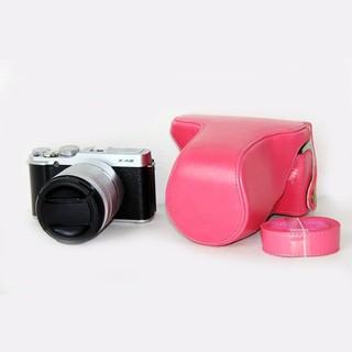 富士X-M1相機包 富士XA1相機皮套 單反相機攝影包油皮無標款