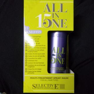 現貨 Selective 雪樂媞 完美15修護髮膜 150ml