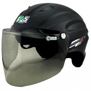 ㊕Perry Store㊝GP5 039 素色 消光黑 頭圍加大版 雪帽 半罩式安全帽