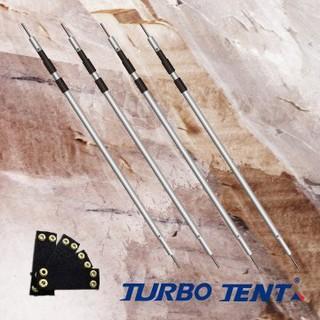 【**缺貨中**1小玩家露營用品】Turbo Tent 多功能雙針營柱