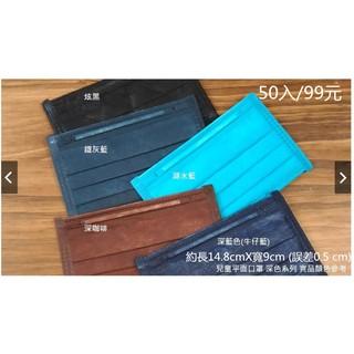 [永康如意] 台灣淨新製造 兒童三層複合式纖維口罩- 一盒50入