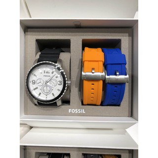 Fossil outlet 男款 男錶禮物組