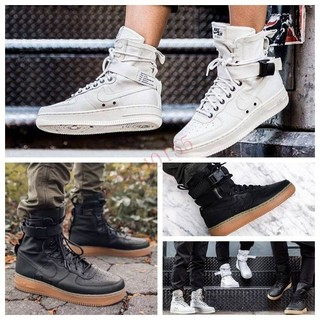 現貨  NIKE SF AIR FORCE 1 籃球鞋(黑白)857872-001.SPECIAL FIELD男女款