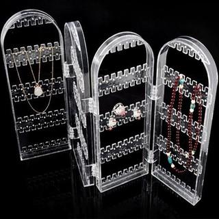 透明屏風多 首飾架耳釘耳環展示架 屏風首飾架飾品掛架耳環項鏈收納