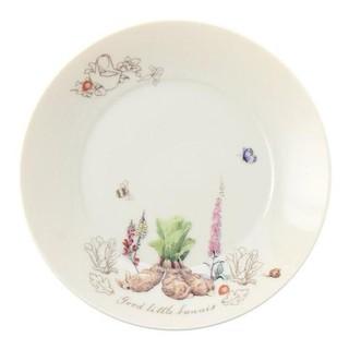 日本代購預購 Peter Rabbit 比得兔 彼得兔 時尚插圖盤 點心盤 餐盤 盤子 小菜盤 058-541