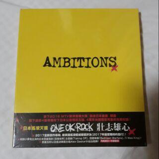 ONE OK ROCK-壯志雄心[CD專輯]