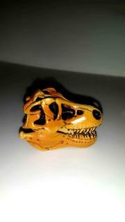 A-218 櫃 現況品 海洋堂 KAIYODO CHOCO Q 恐龍 古代生物  第一彈  暴龍 頭骨  富貴玩具店