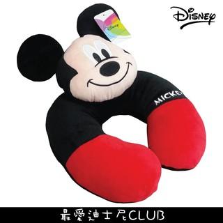 迪士尼正版授權 米奇 3D頭形造型頸枕 午安枕