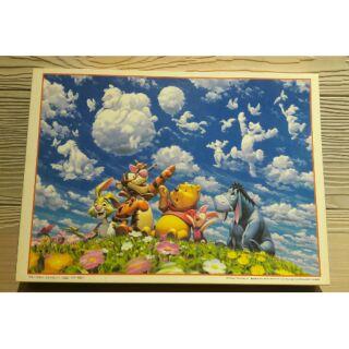Tenyo 小熊維尼 2000片Winnie the pooh 維尼 日本 拼圖