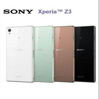 Sony Z3 女用中古手機 金色 全新面板 物超所值