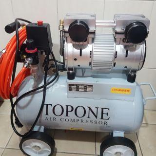 2.5馬25L靜音款空壓機附濾水罐