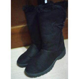 ESKT  保暖雪鞋 女款/賞雪鞋 雪靴 活動小冰爪/38號