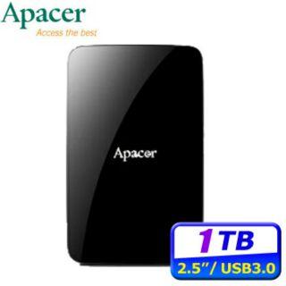 免運下殺↘ Apacer宇瞻 AC233 1TB USB3.0 2.5吋 行動硬碟  外接硬碟 創見 威剛 WD 東芝