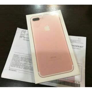 iphone7plus 128g「全新未拆封」贈正版三代空壓殼、玻璃鋼化貼