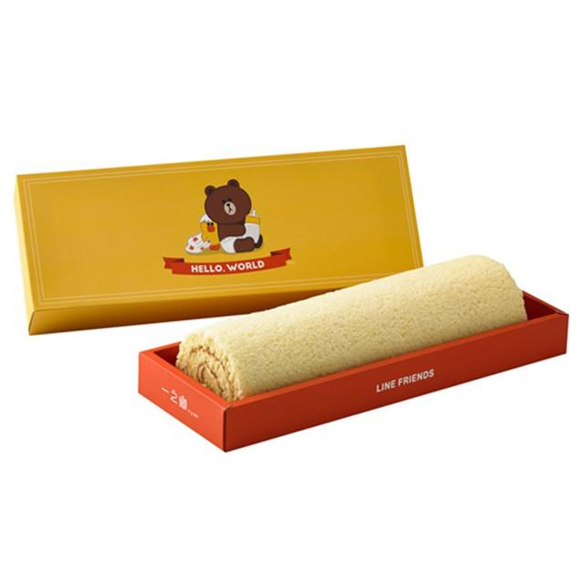 iCarry我來寄-一之鄉 LINE熊大蜂蜜檸檬蛋糕捲禮盒⭐一之鄉 獨家代理,免代購費,免排隊,快速出貨⭐