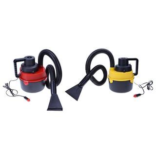 熱銷12V便攜汽車吸塵器 乾濕兩用圓桶清洗機  真空吸塵機