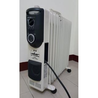 ~二手~嘉儀HELLER電暖爐 KE12TF 12葉片式(已過保,有曬衣架子)