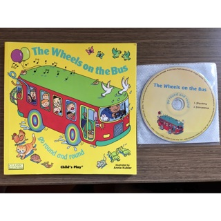 The wheels on the bus 英文童書