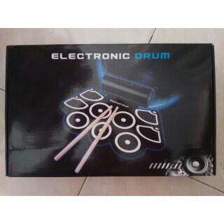 全新 Konix MD760 攜帶式 手捲電子鼓  手捲鼓 爵士鼓