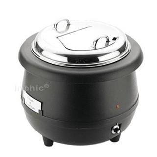【雜貨小鋪】不銹鋼蓋滋補養顏電子暖湯煲 砂鍋煲湯煲鍋 81328-7_J005D