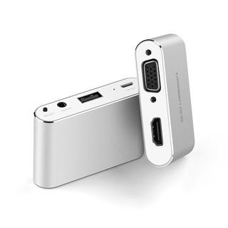 歐美潮流爆款iPhone轉hdmi/vga轉換器蘋果7安卓手機ipad平板接投影儀電視