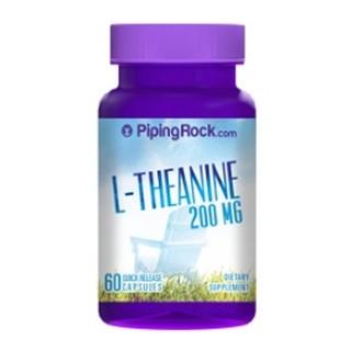茶胺酸 200mg 60顆 L-Theanine Piping Rock Now