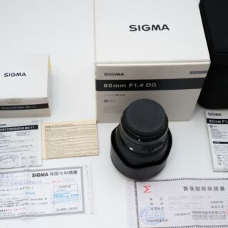 【售】保固中9.99新SIGMA 85mm F1.4 ART DG HSM 恆伸公司貨 For CANON FF