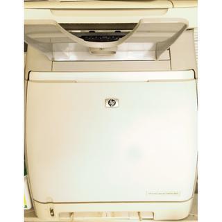 HP Color LaserJet CM1015 MFP _ 雷射印表機 列印、影印、掃瞄事務機(空機不含碳粉)