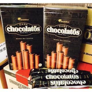 黑雪茄巧克力威化捲 320g(獨立20支包裝)~印尼黑巧克力捲心酥 威化捲