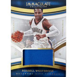 威少 Russell Westbrook 小國寶限量74張球衣卡 NBA球員卡 NBA 球員卡 球衣卡 球衣