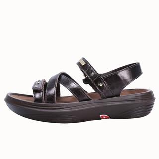 51K潮品鋪kybun瑞士進口康步健康鞋女士涼鞋 夏季透氣厚底松糕鞋KFW5042
