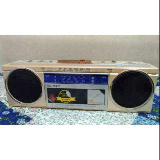 早期79年SONY收錄音機日本製