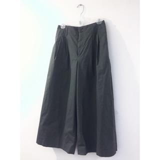 Uniqlo 軍綠 寬褲 褲裙