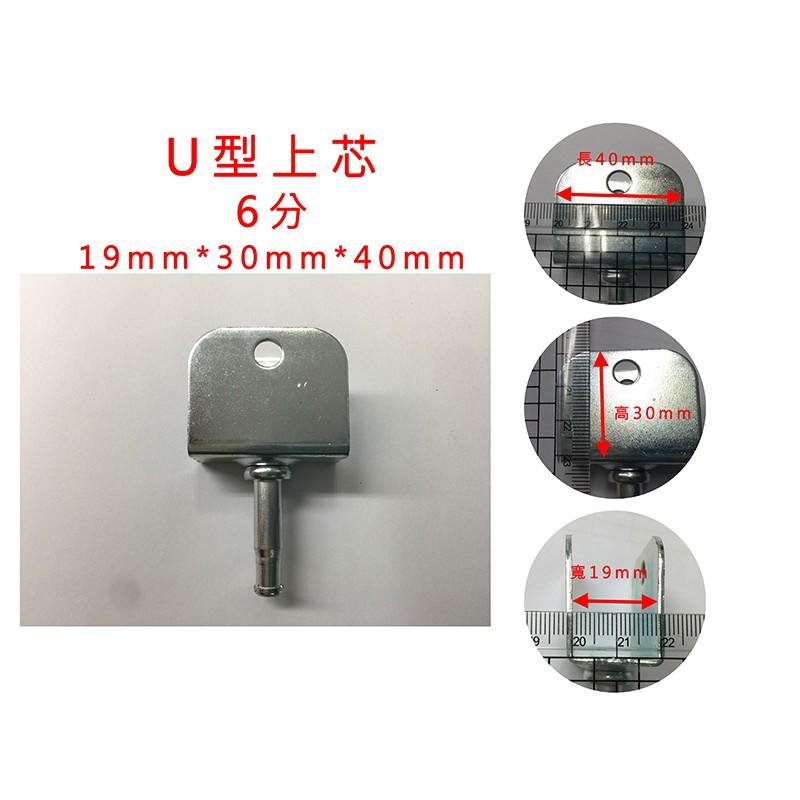 【滾動幸福PU輪】『上芯換購價』特殊上芯規格 U型上芯(一組5入) 可替換在賣場所有輪子