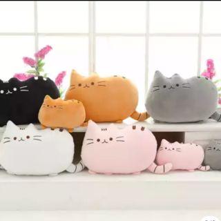 [現貨] Pusheen cat 胖吉貓 奶頭貓 FB貼圖 抱枕 娃娃