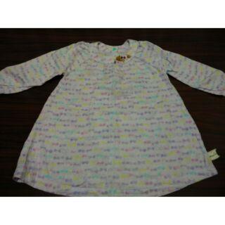 手工訂製童裝Whypichi粉紫小蝴蝶六層紗透氣洋裝(尺吋80~90)