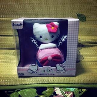 Hello Kitty 絨毛玩具 小飛機