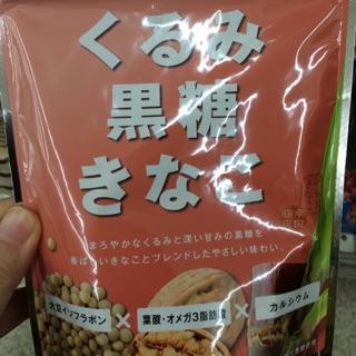 日本健康飲品 核桃黑糖黃豆粉沖泡粉