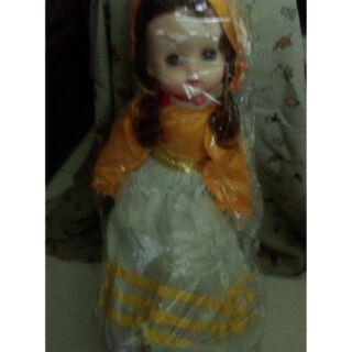 早期台灣製造娃娃,會閉眼