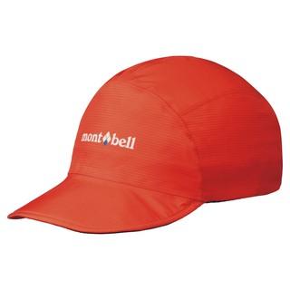 日本 Montbell Gore-Tex 防水帽球帽 橘紅 1128508