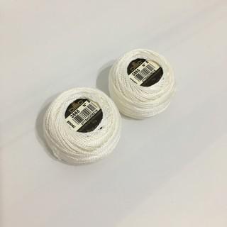 【一顆$80 色號3865】法國DMC 8號純棉繡線